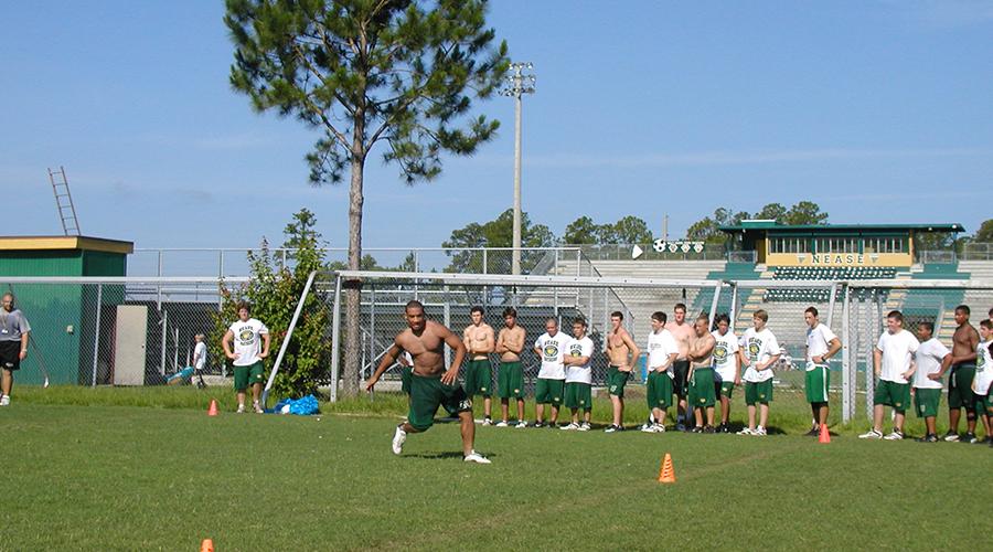 Football Training Session Jacksonville FL